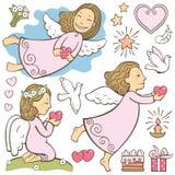 Комплект ангелов Стоковая Фотография RF