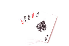 Комплект аншлага карточек Стоковое фото RF