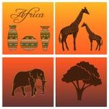 Комплект африканца Стоковые Фотографии RF