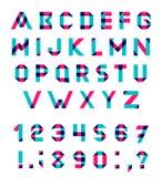Комплект алфавита вектора иллюстрация штока