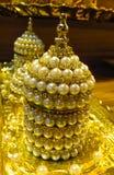 Комплект бака чая золота Стоковые Изображения