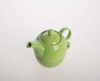 Комплект бака чая или чай фарфора бак и чашка на предпосылке Стоковые Фотографии RF