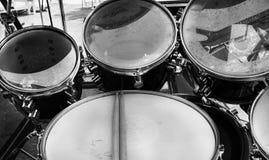 Комплект барабанчика Стоковые Фото