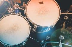 Комплект барабанчика Стоковое Фото