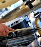 Комплект барабанчика Стоковые Изображения