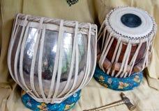 Комплект барабанчиков таблицы Стоковое Фото