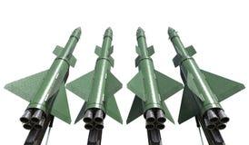 комплект батареи ракет 3d sam бесплатная иллюстрация