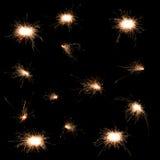 Комплект бенгальского огня Стоковые Фотографии RF