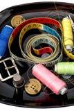 Комплект белошвейки для needlework Стоковое Изображение RF