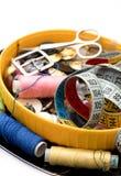 Комплект белошвейки для needlework Стоковые Изображения RF