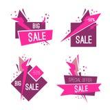 Комплект больших знамен специальной продажи Стоковое Изображение