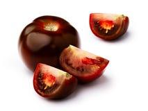 Комплект Брайна изолированный томатом Стоковое Фото