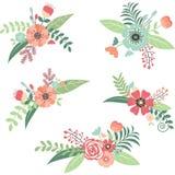 Комплект букета цветка свадьбы Стоковые Фото