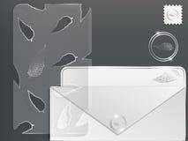 комплект бумаги 3d Стоковая Фотография RF