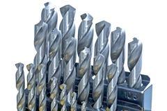 Комплект буровых наконечников для металла стоковые фотографии rf
