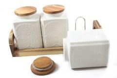 Комплект бутылок для сортированных специй Стоковое Изображение