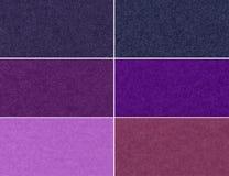 Комплект блестящих текстур Стоковая Фотография