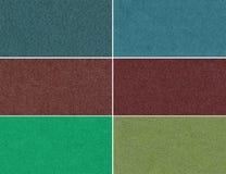 Комплект блестящих ярких текстур Стоковое фото RF
