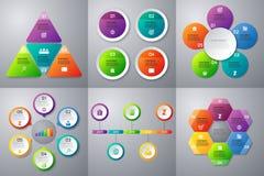 Комплект вектора запаса infographics иллюстрация вектора