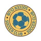 Комплект вектора знака футбола Стоковая Фотография RF