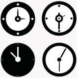 комплект вектора часов Стоковое фото RF