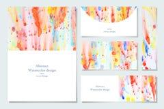 Комплект визитной карточки Стоковые Изображения