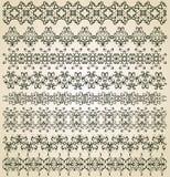 Комплект винтажных орнаментов Стоковые Фотографии RF