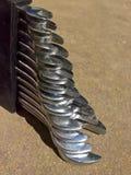 Комплект гаечного ключа Стоковая Фотография