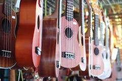 Комплект гитары Стоковое фото RF