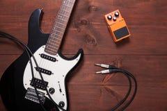 Комплект гитары Стоковая Фотография