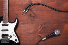 Комплект гитары Стоковые Изображения