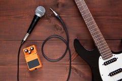 Комплект гитары Стоковое Фото