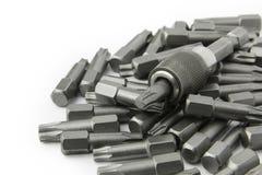 Комплект голов битов отвертки torx Стоковое Изображение