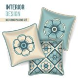 Комплект декоративной подушки Стоковая Фотография
