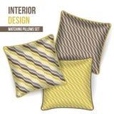 Комплект декоративной подушки Стоковое Изображение RF