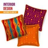 Комплект декоративной подушки Стоковые Изображения RF