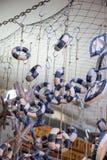 Комплект декоративных спасательных жилетов Стоковые Фото