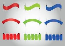 Комплект ленты 3 стилей Стоковые Фотографии RF