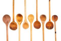 Комплект деревянной ложки кухни Стоковое Фото