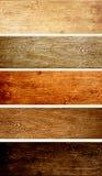 Комплект деревянных знамен Стоковая Фотография RF