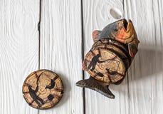 комплект деревянных каботажных судн для чая Стоковые Фотографии RF