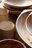 Комплект деревянных плит Стоковые Изображения