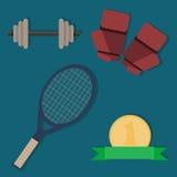 Комплект деталей спорт Стоковое Изображение RF