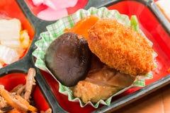 Комплект еды Японии Стоковые Изображения RF