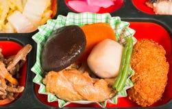 Комплект еды Японии Стоковые Изображения