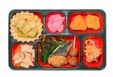Комплект еды Японии Saba зажарил Стоковые Фото