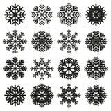 Комплект ледяного кристалла Стоковые Изображения RF