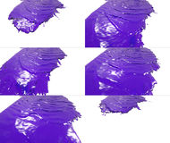 Комплект жидкостной подачи падает на поверхность Стоковое Изображение RF