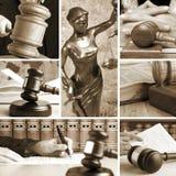 Комплект закона Стоковая Фотография
