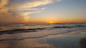 Комплект захода солнца Флориды Стоковые Изображения RF